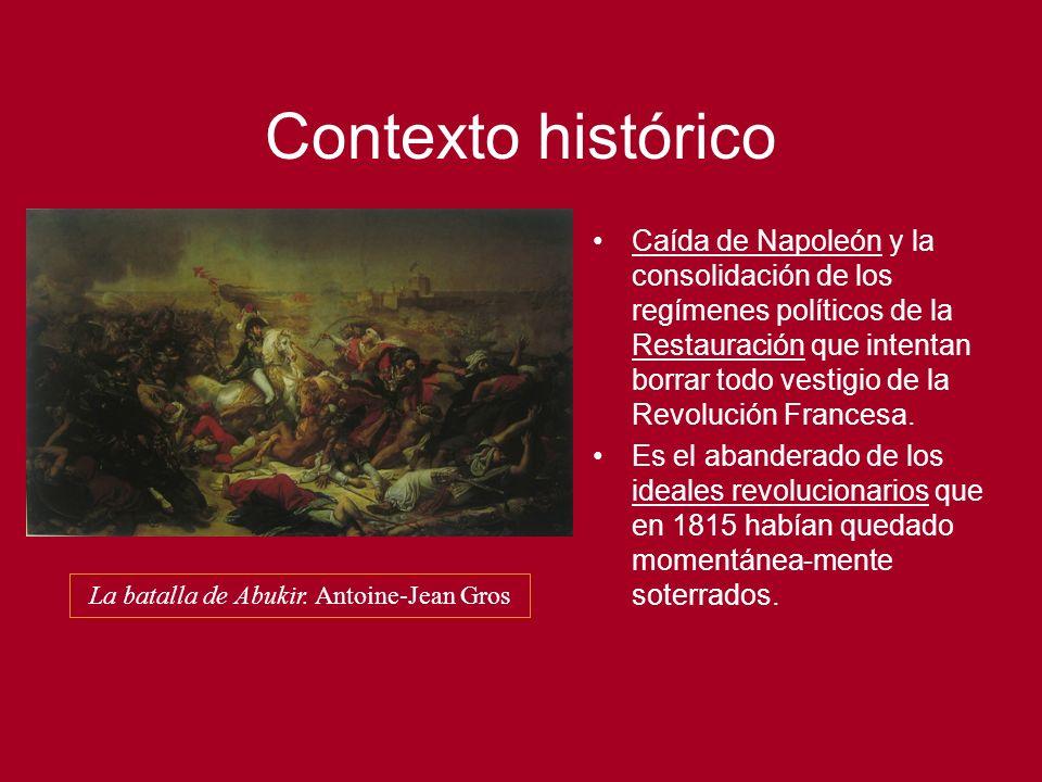 La batalla de Abukir. Antoine-Jean Gros