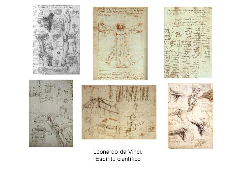 Leonardo da Vinci. Espíritu científico