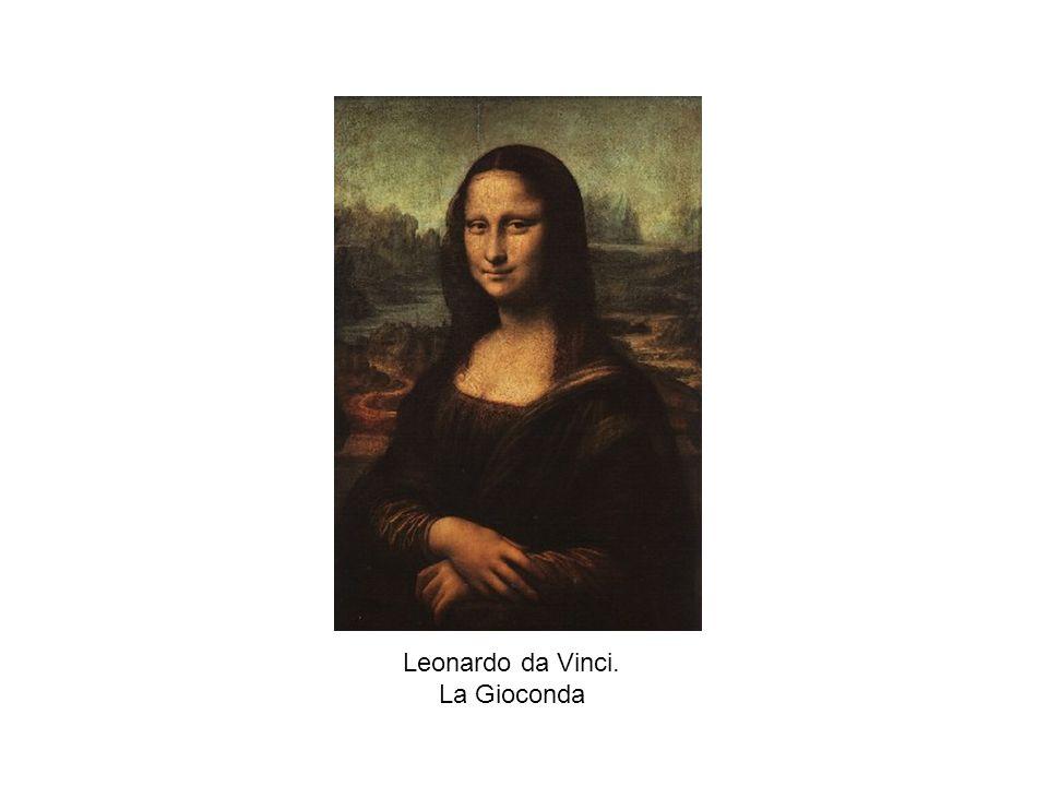 Leonardo da Vinci. La Gioconda