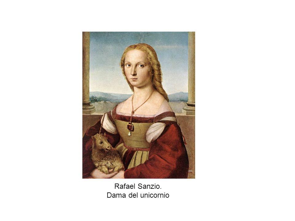 Rafael Sanzio. Dama del unicornio
