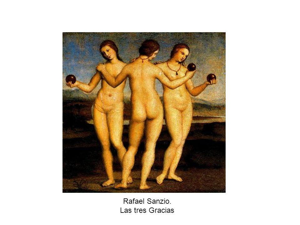 Rafael Sanzio. Las tres Gracias
