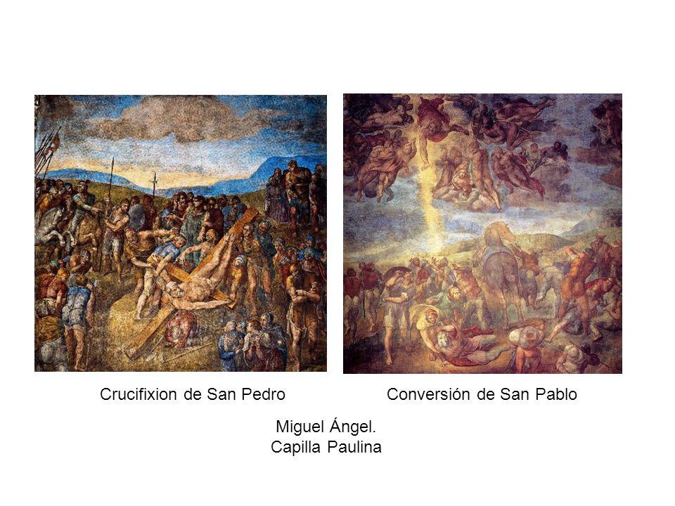 Crucifixion de San Pedro Conversión de San Pablo