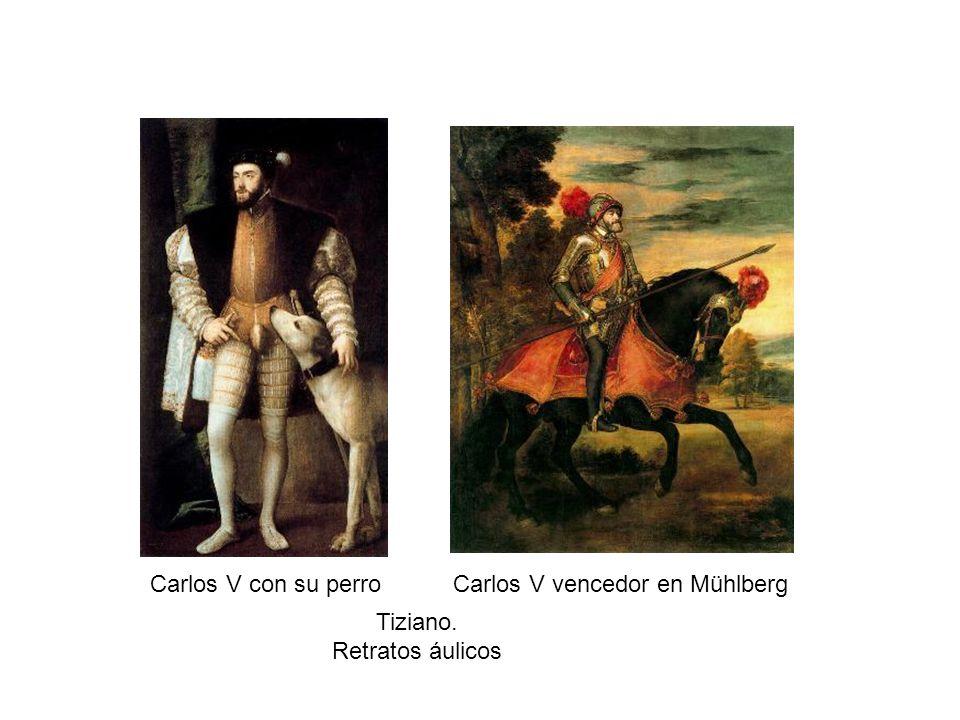 Carlos V vencedor en Mühlberg
