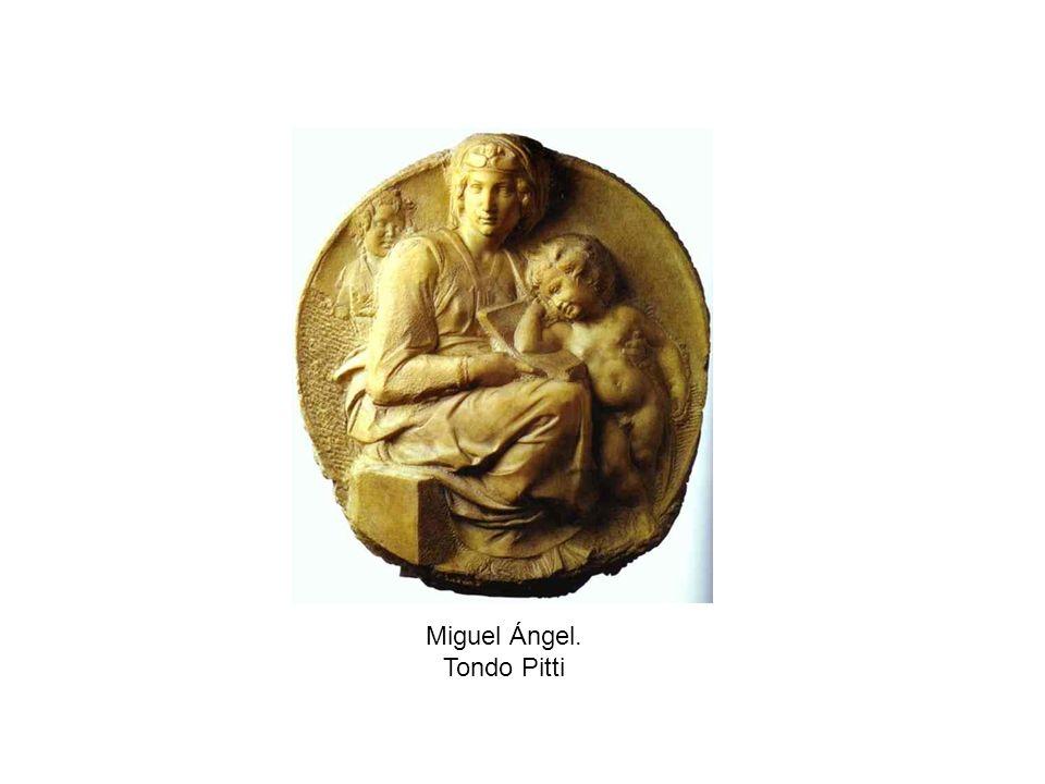 Miguel Ángel. Tondo Pitti