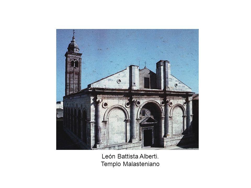 León Battista Alberti. Templo Malasteniano