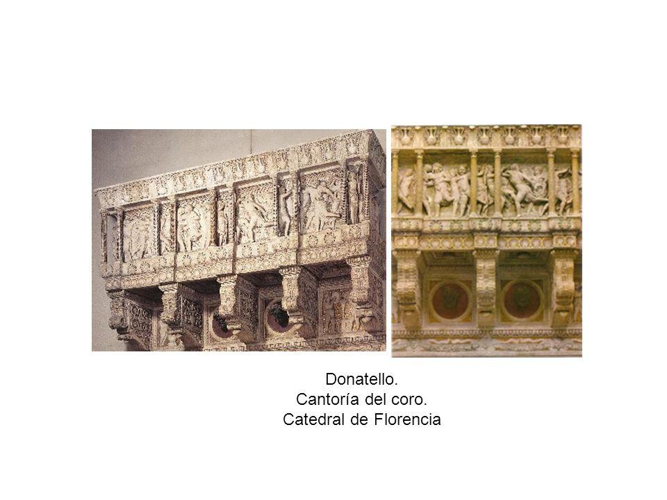 Donatello. Cantoría del coro. Catedral de Florencia