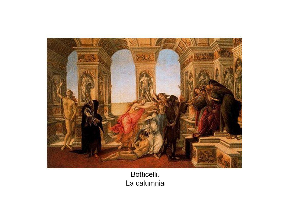 Botticelli. La calumnia