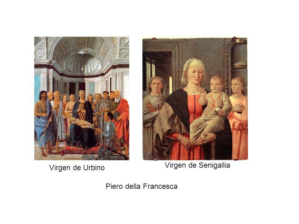 Virgen de Senigallia Virgen de Urbino Piero della Francesca