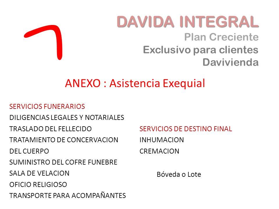 ANEXO : Asistencia Exequial