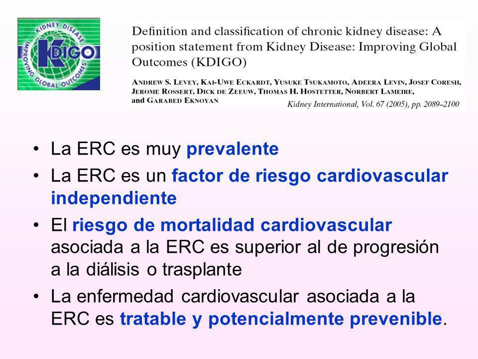 La ERC es muy prevalente