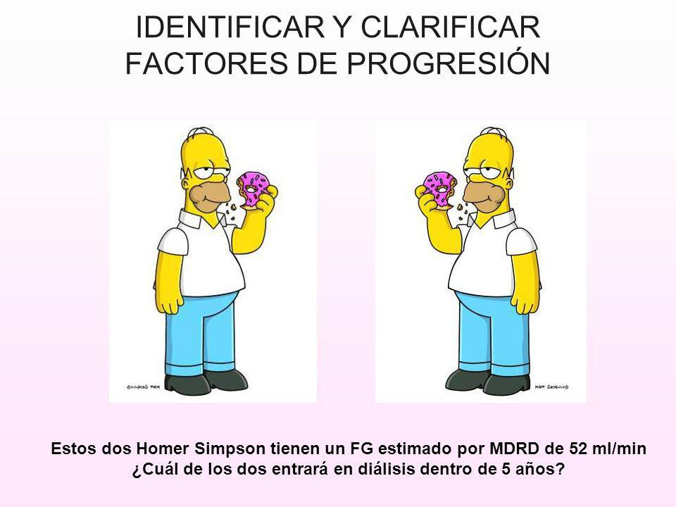 IDENTIFICAR Y CLARIFICAR FACTORES DE PROGRESIÓN