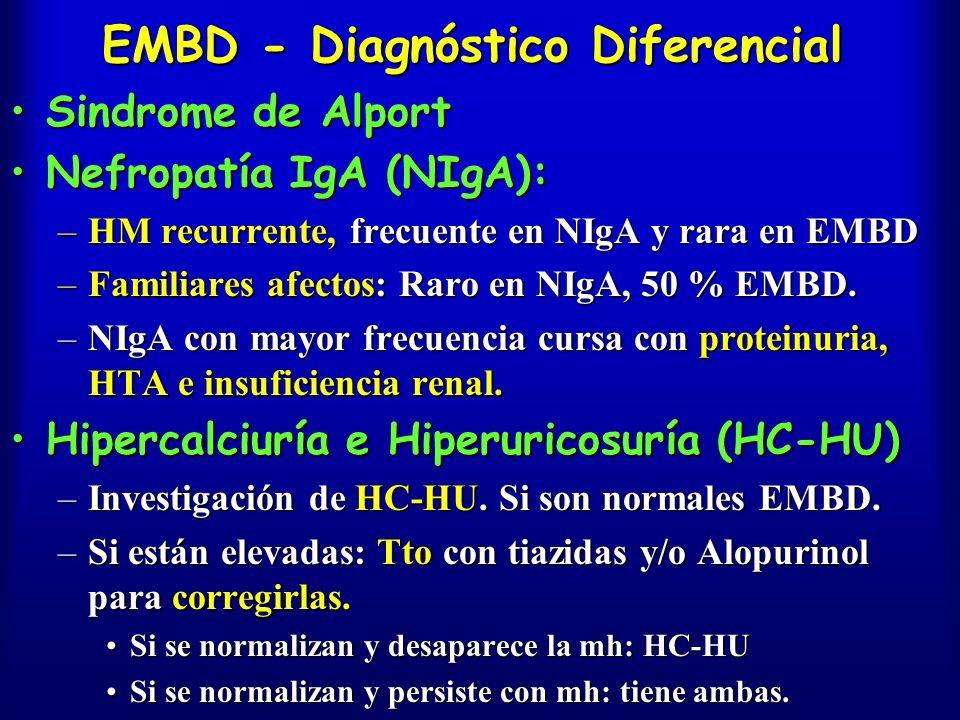 EMBD - Diagnóstico Diferencial