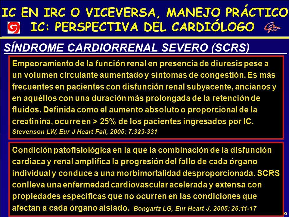 SÍNDROME CARDIORRENAL SEVERO (SCRS)