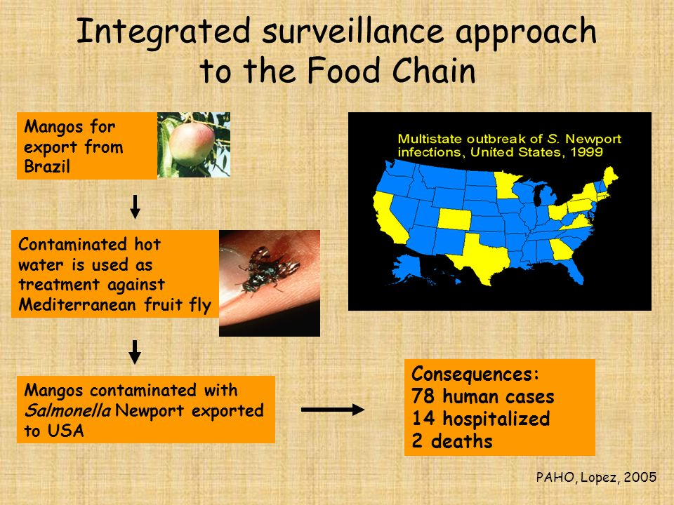 Integrated surveillance approach to the Food Chain
