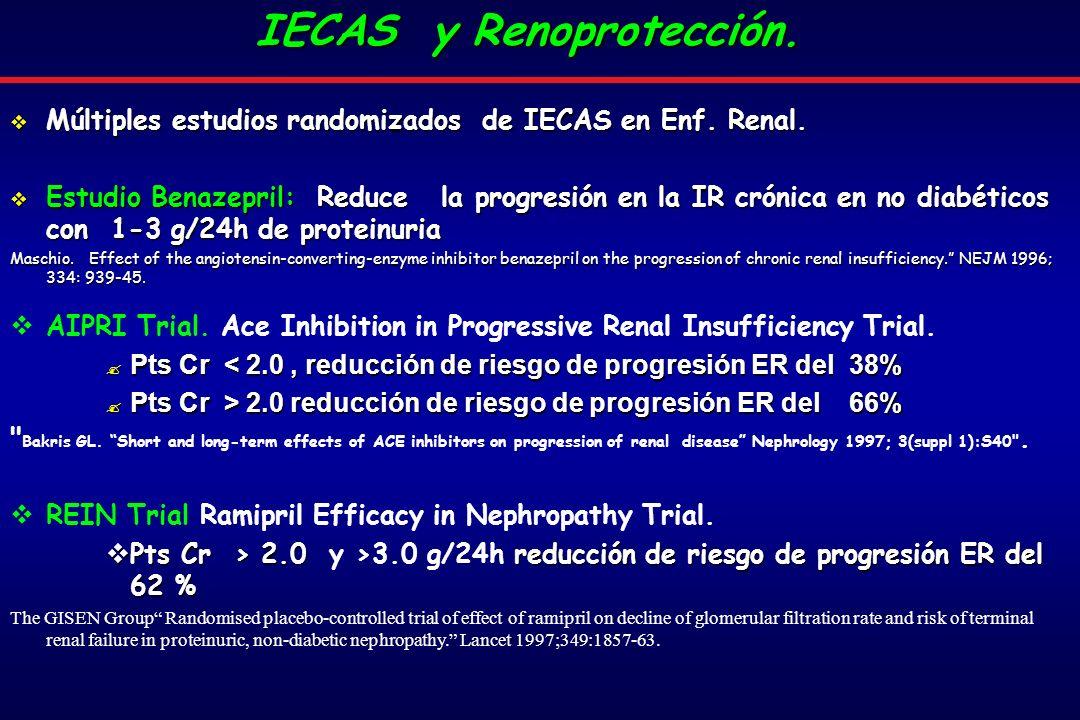 IECAS y Renoprotección.