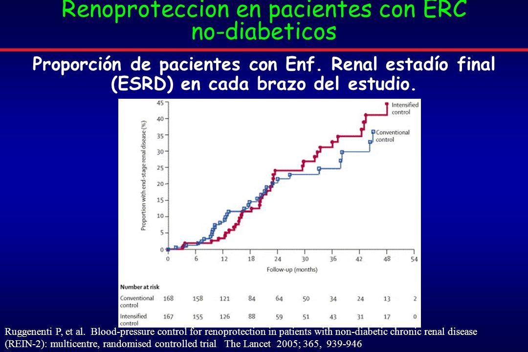 Renoproteccion en pacientes con ERC no-diabeticos