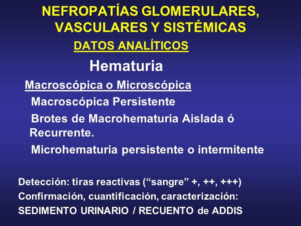 NEFROPATÍAS GLOMERULARES, VASCULARES Y SISTÉMICAS