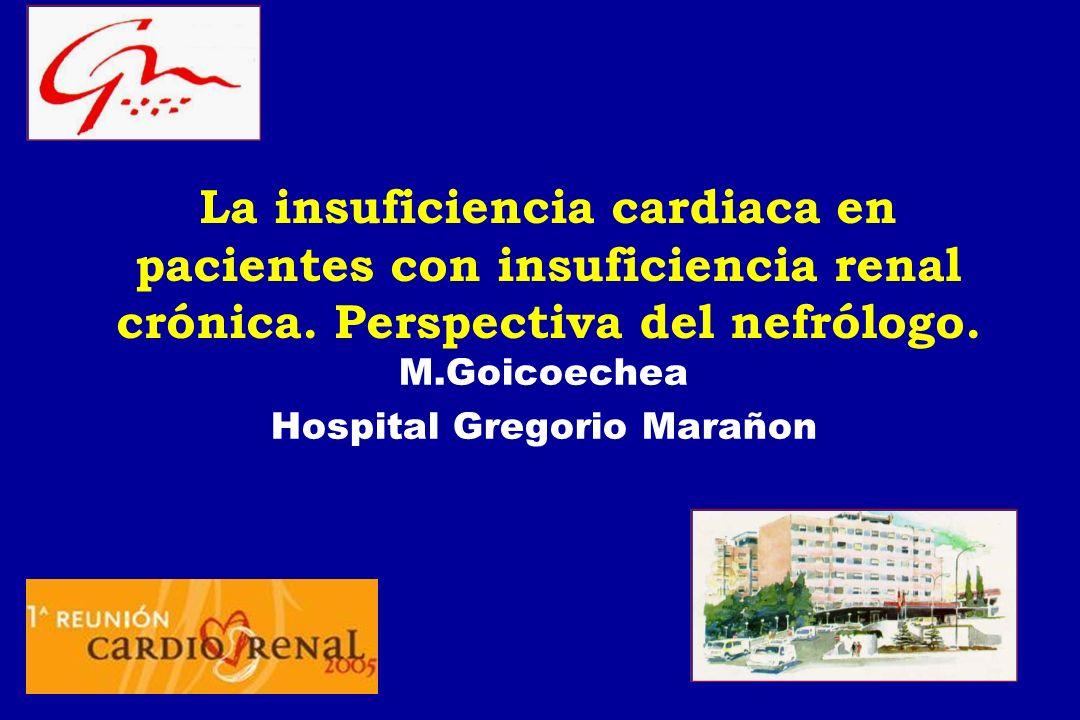 M.Goicoechea Hospital Gregorio Marañon