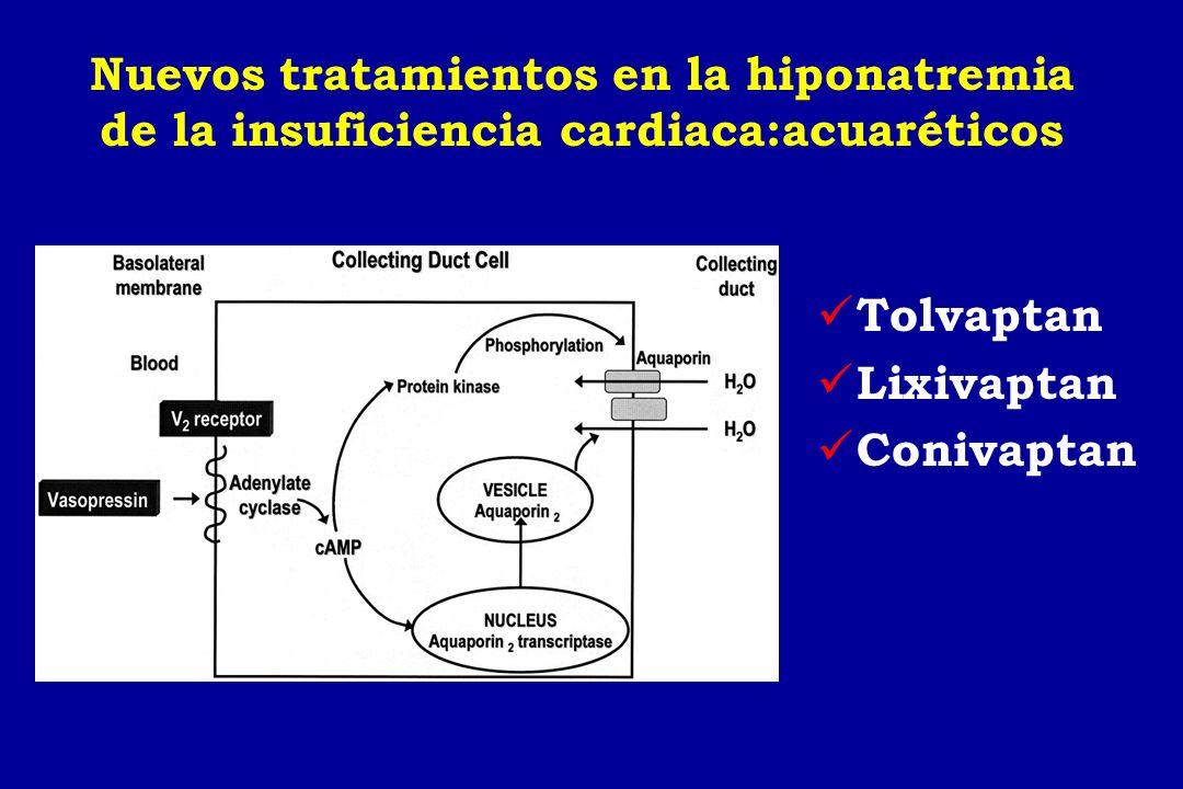 Nuevos tratamientos en la hiponatremia de la insuficiencia cardiaca:acuaréticos
