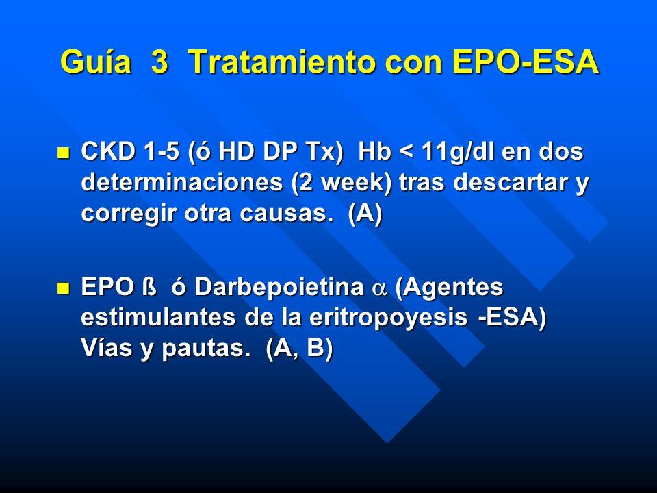 Guía 3 Tratamiento con EPO-ESA