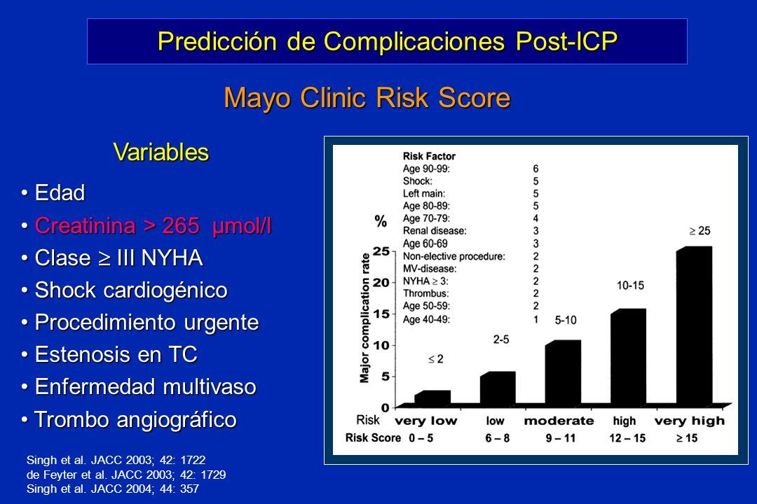 Predicción de Complicaciones Post-ICP