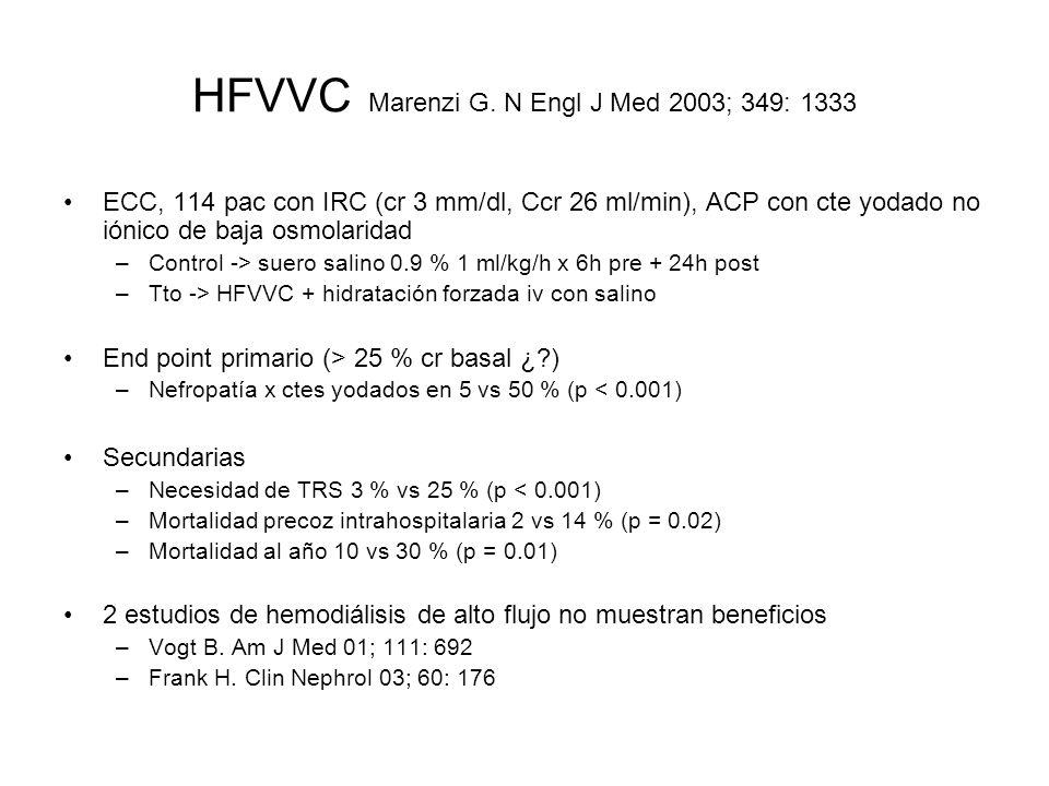 HFVVC Marenzi G. N Engl J Med 2003; 349: 1333