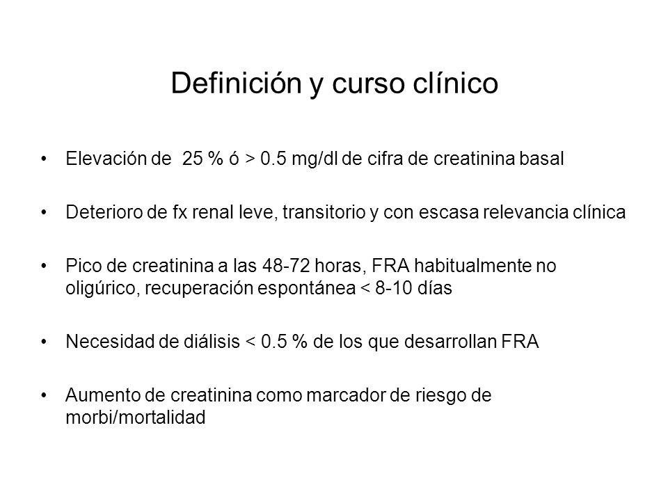 Definición y curso clínico