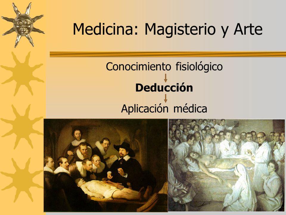 Medicina: Magisterio y Arte