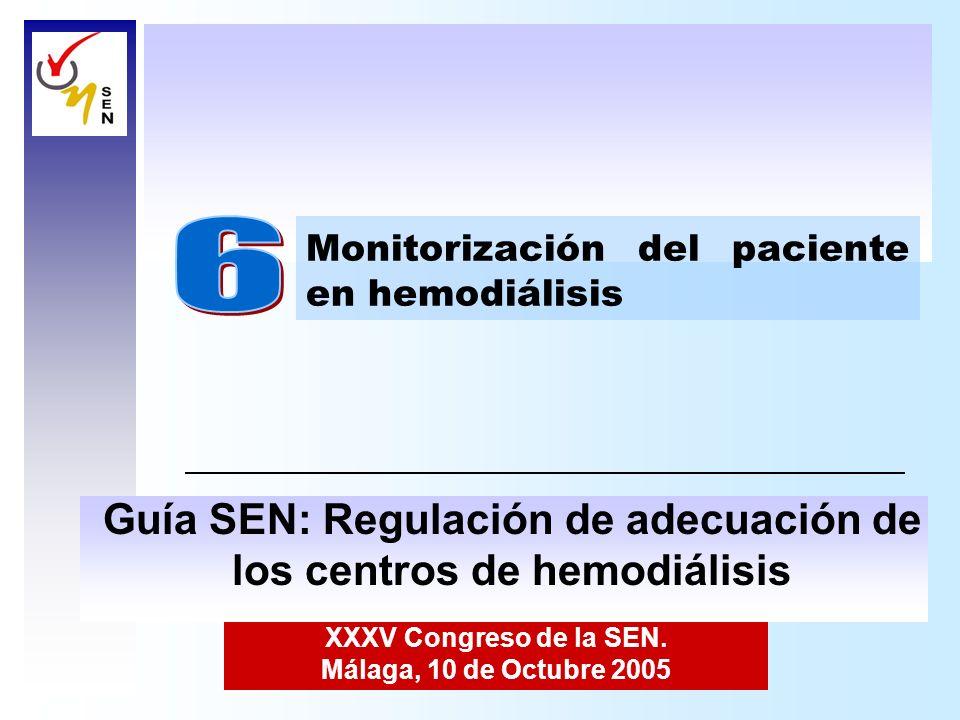 6 Guía SEN: Regulación de adecuación de los centros de hemodiálisis