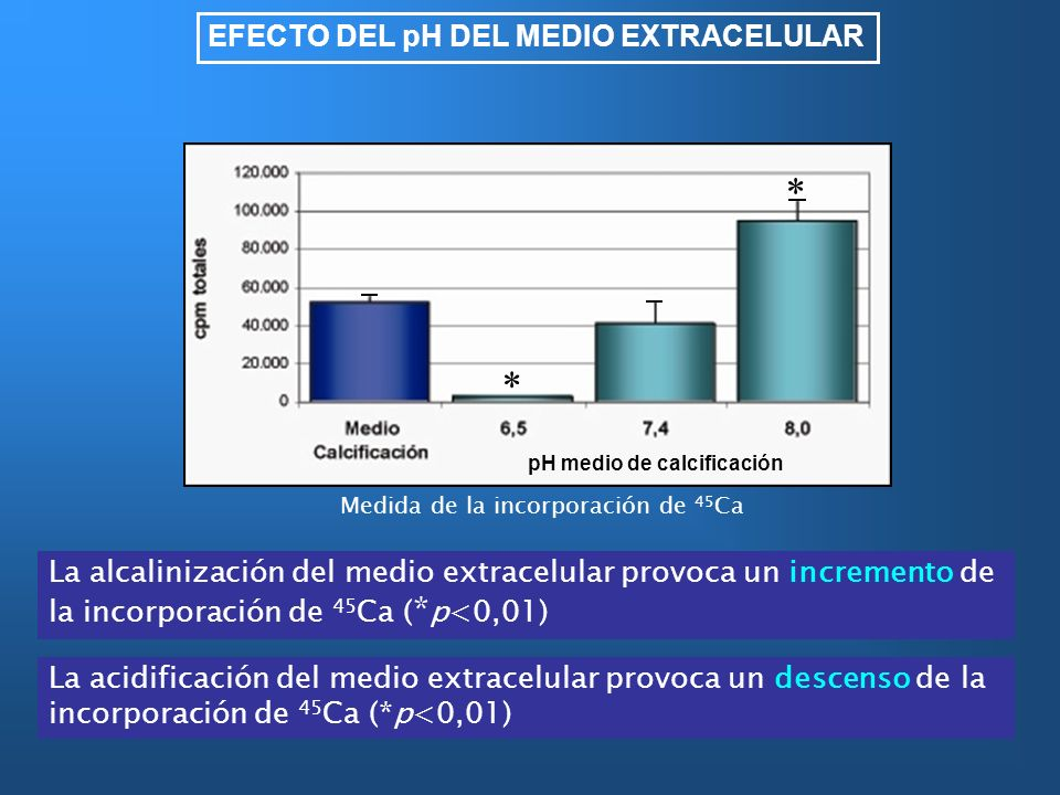 * EFECTO DEL pH DEL MEDIO EXTRACELULAR