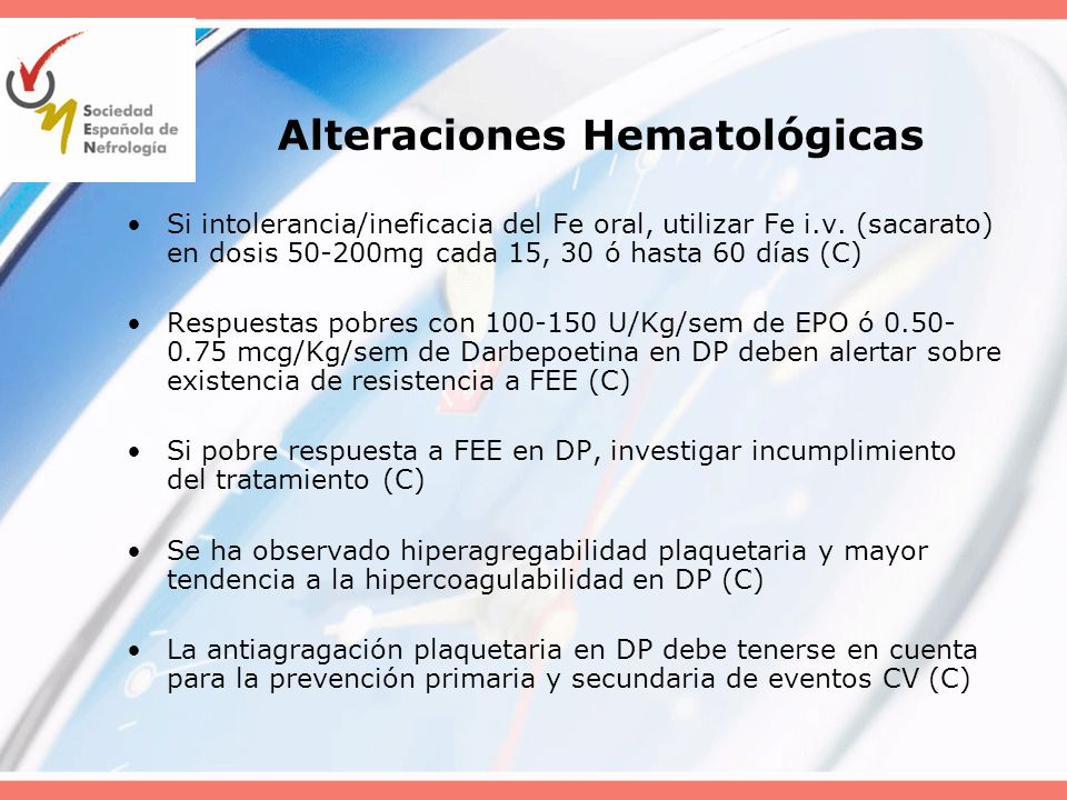 Alteraciones Hematológicas