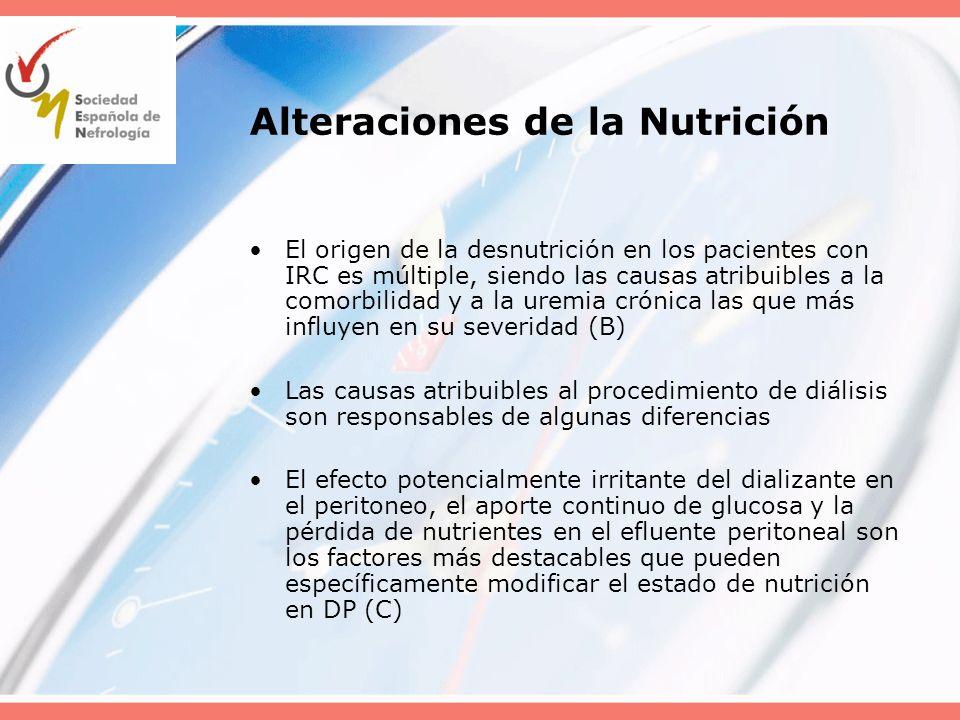 Alteraciones de la Nutrición