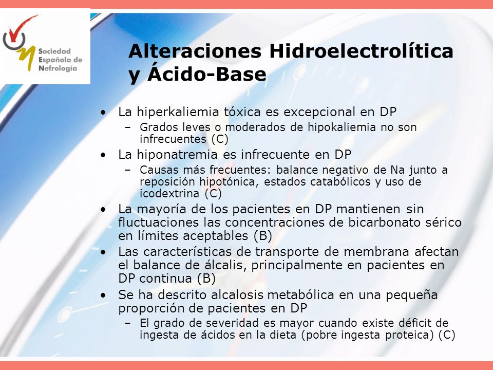 Alteraciones Hidroelectrolítica y Ácido-Base