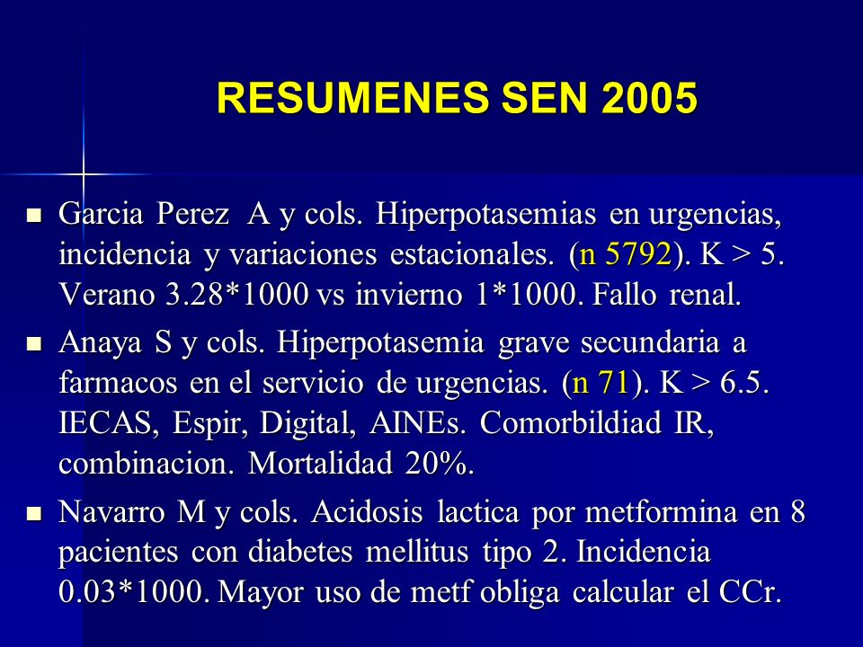 RESUMENES SEN 2005