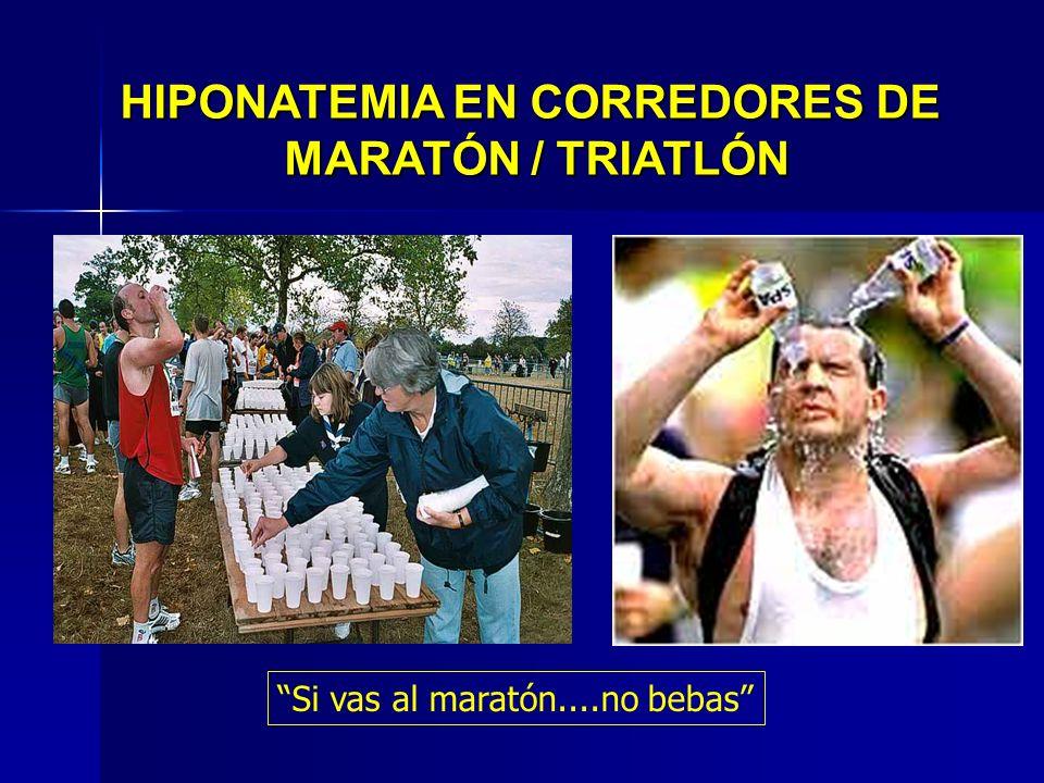 HIPONATEMIA EN CORREDORES DE