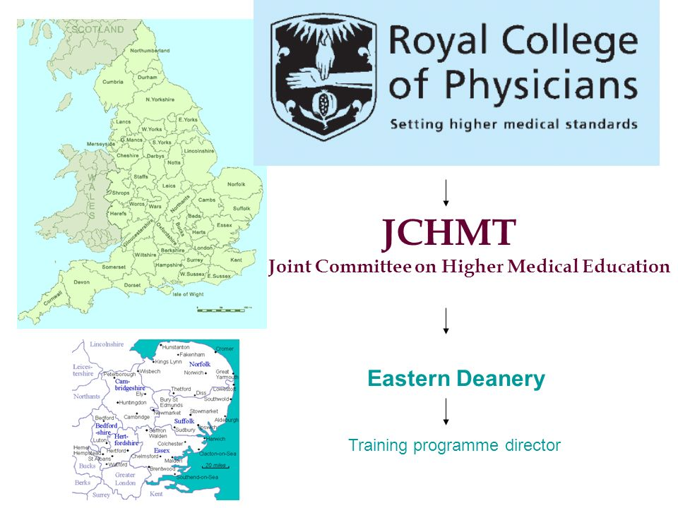 JCHMT Eastern Deanery Joint Committee on Higher Medical Education