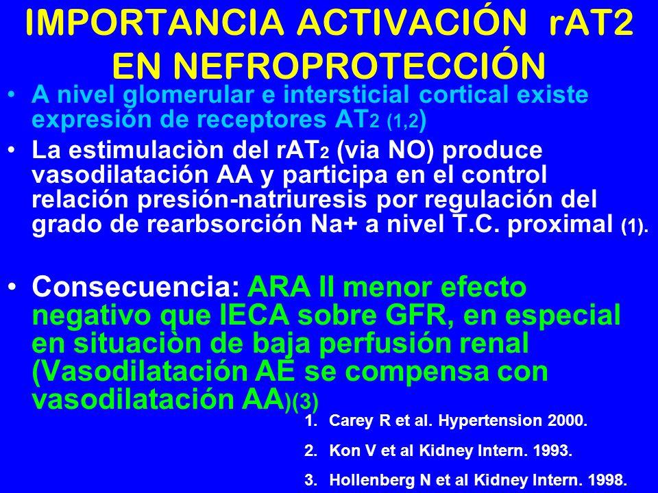IMPORTANCIA ACTIVACIÓN rAT2 EN NEFROPROTECCIÓN