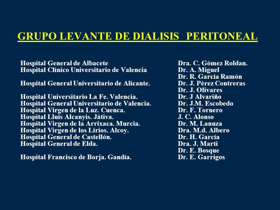 GRUPO LEVANTE DE DIALISIS PERITONEAL