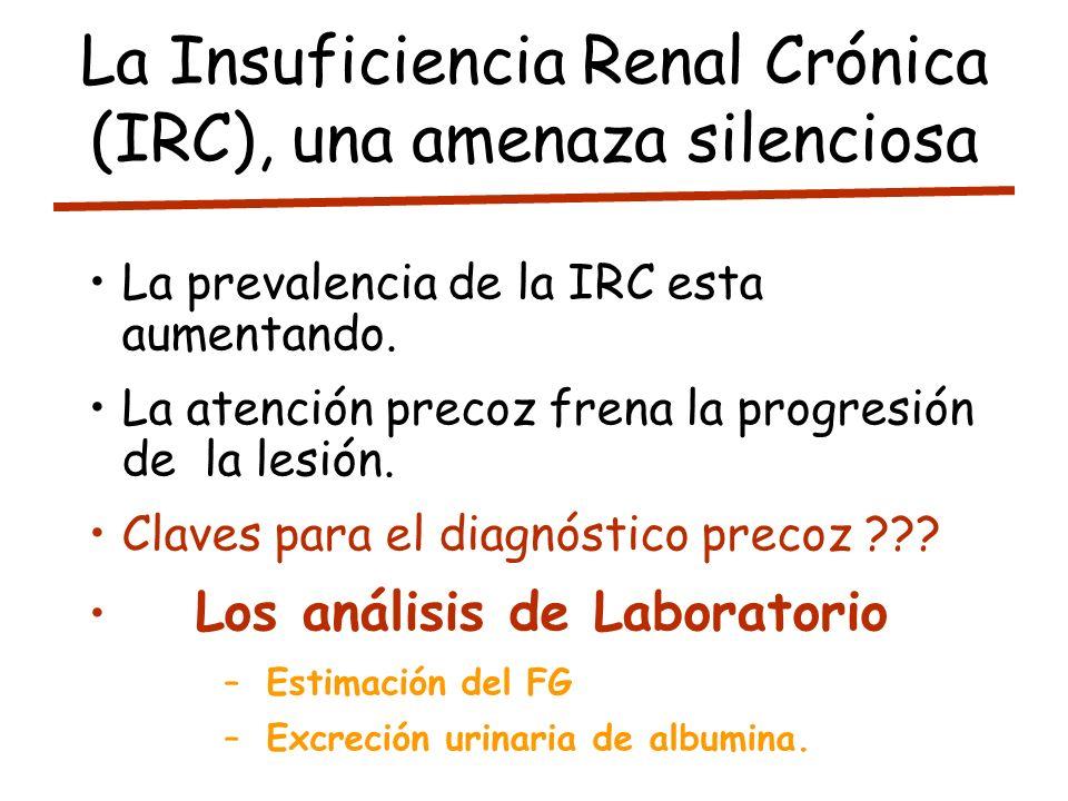 La Insuficiencia Renal Crónica (IRC), una amenaza silenciosa