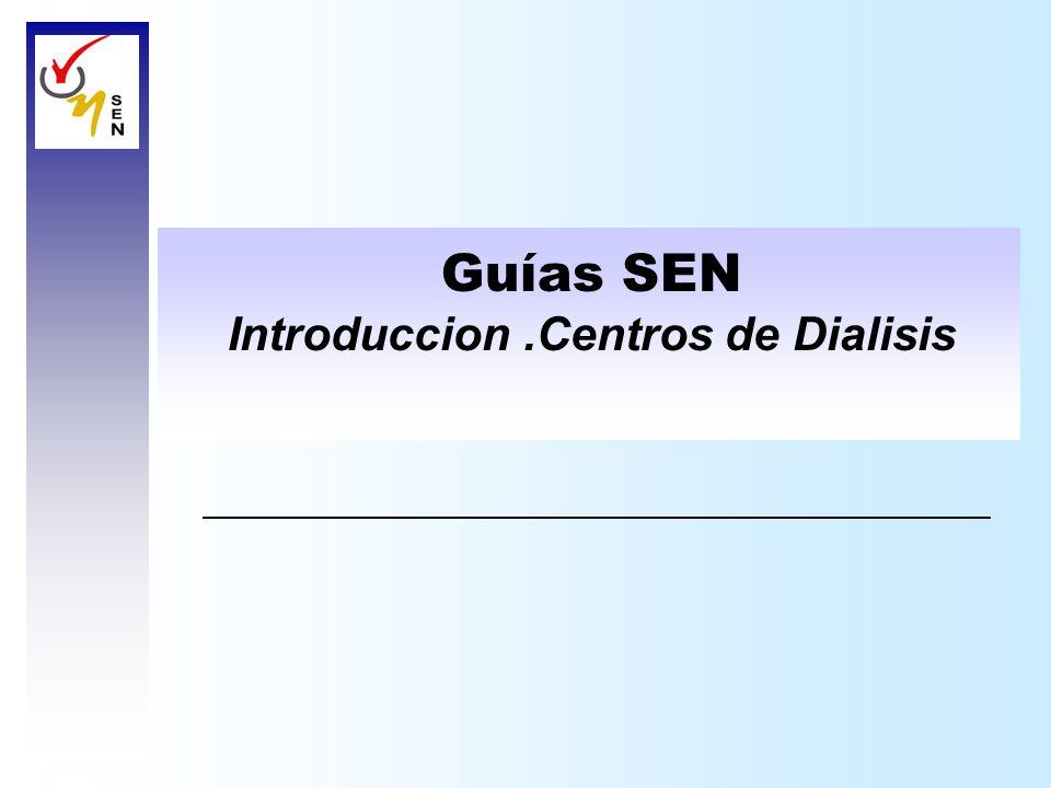 Introduccion .Centros de Dialisis