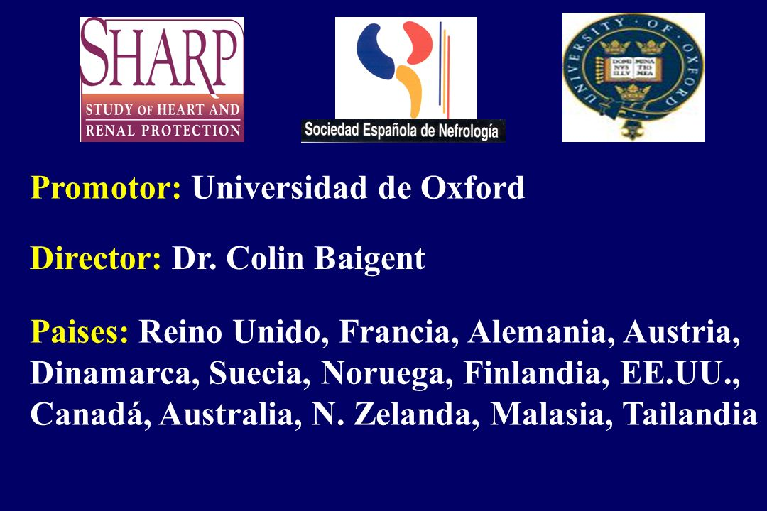 Promotor: Universidad de Oxford
