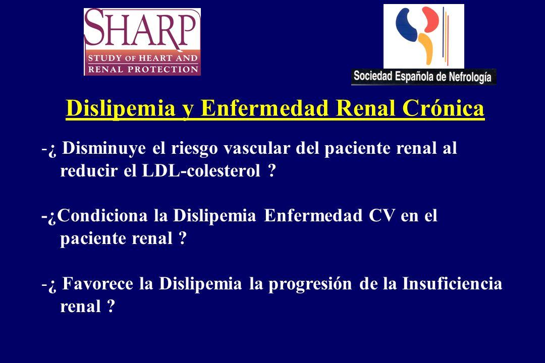Dislipemia y Enfermedad Renal Crónica