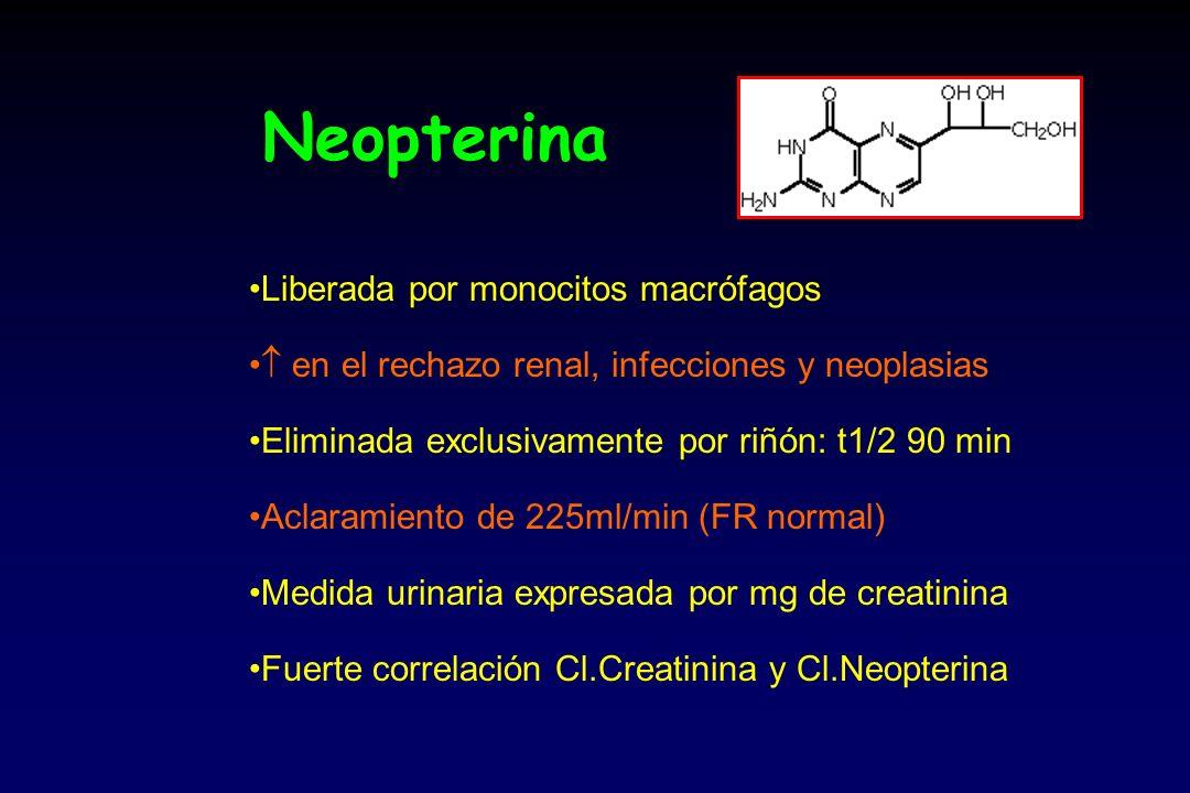 Neopterina Liberada por monocitos macrófagos