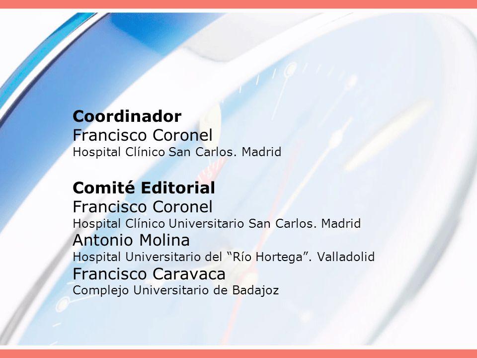 Coordinador Francisco Coronel Hospital Clínico San Carlos
