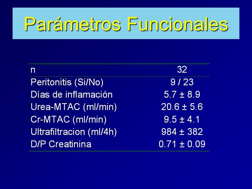 Parámetros Funcionales