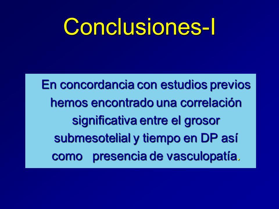 Conclusiones-I