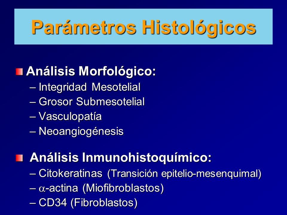 Parámetros Histológicos