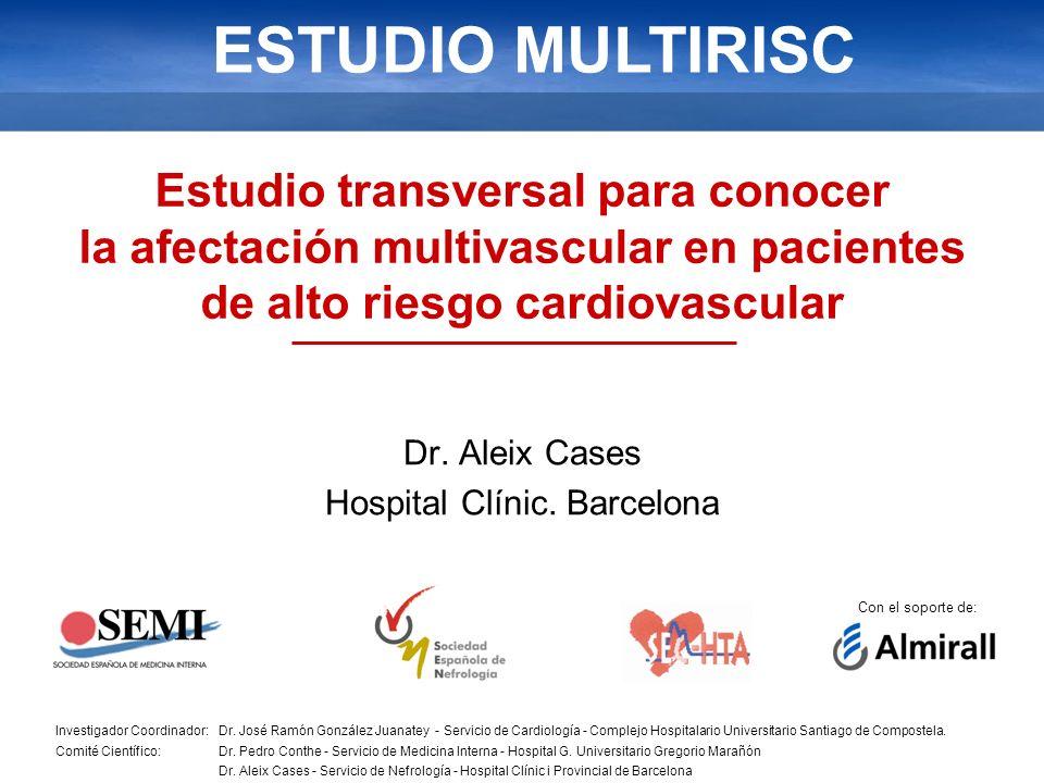 Dr. Aleix Cases Hospital Clínic. Barcelona