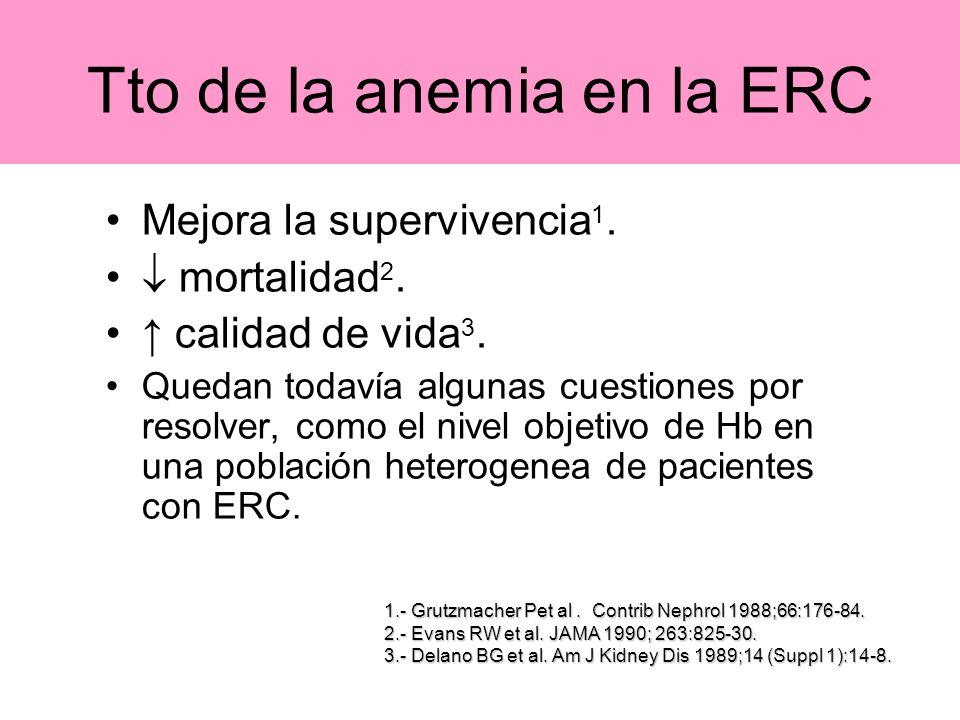Tto de la anemia en la ERC