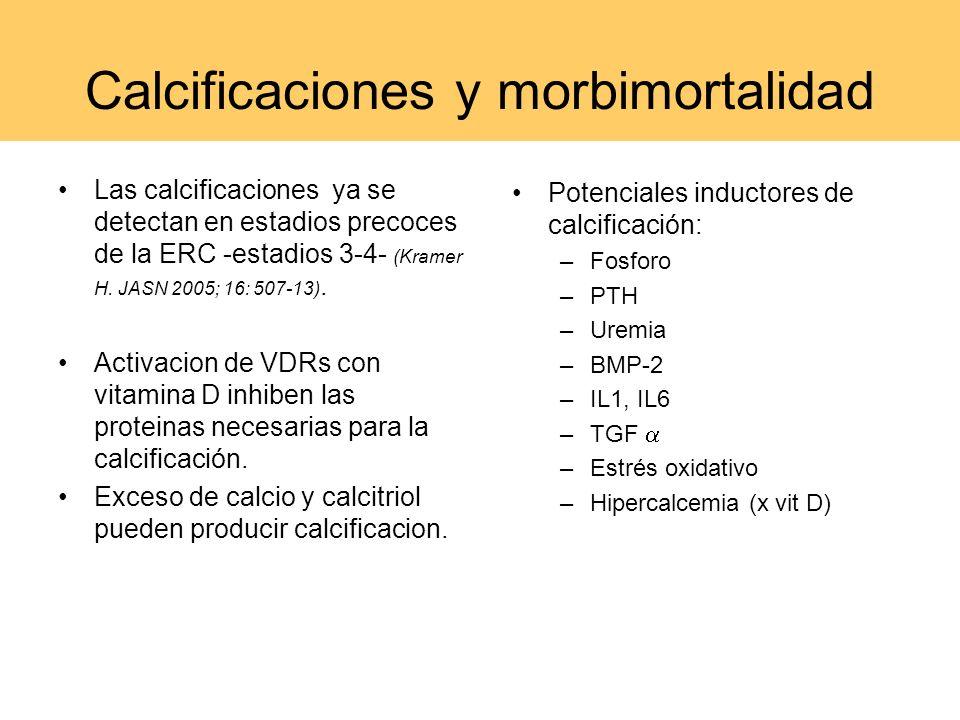 Calcificaciones y morbimortalidad